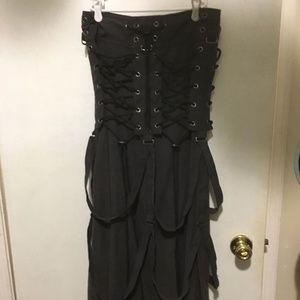 Vintage Cybergoth Rave Clubkid Illig Skirt MEDIUM